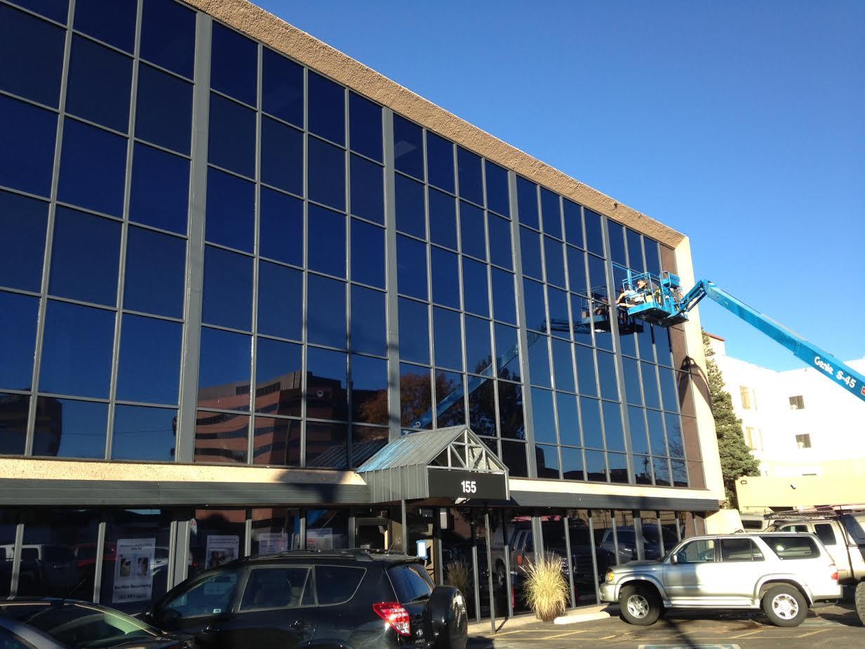 exterior resurfacing service window film denver