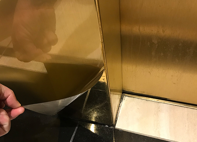 metal shield restoration surface film denver