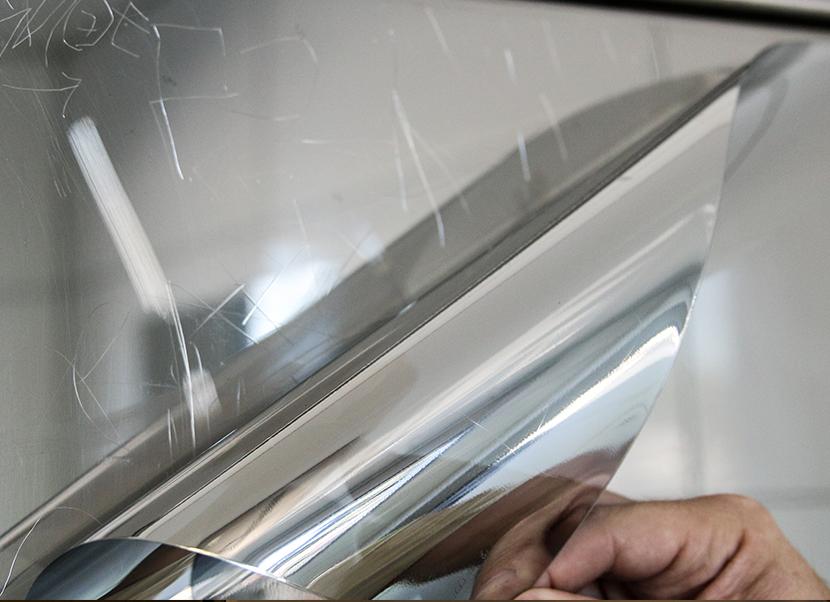 mirror restoration anti-graffiti surface film denver