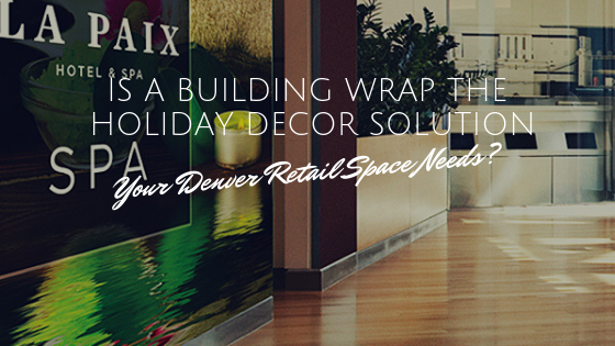 building wrap decorative window film denver