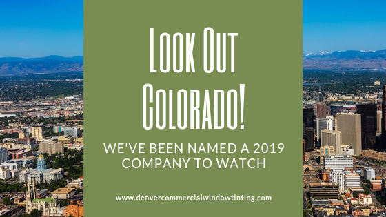 colorado company to watch denver commercial window tinting